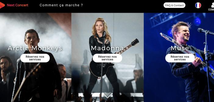 Avis Next Concert – Un service fiable pour les fans !