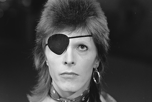 david bowie exposition application