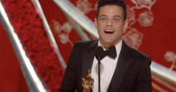 Rami Malek oscar meilleur acteur 2019 freddie mercury bohemiam rhapsody