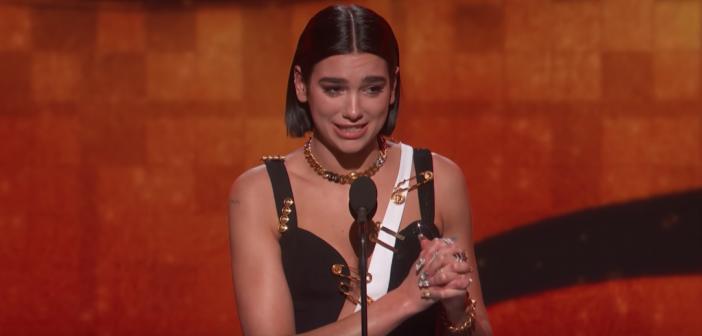 dua lipa grammy awards 2019 retour
