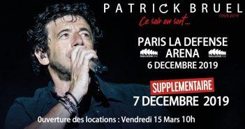 Patrick Bruel en concert à Paris pour nouvelle date ! 1