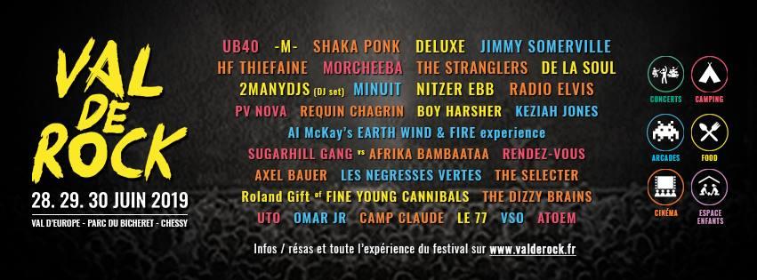 Val de Rock : découvrez la programmation complète du festival 1