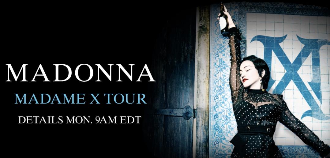 Madonna dévoile dates tournée madame x 2019 2020