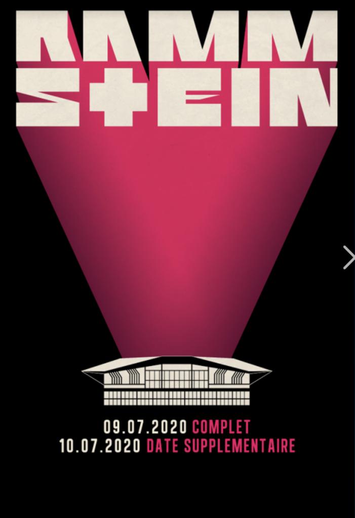 Rammstein annonce un concert supplémentaire à Lyon en 2020 1