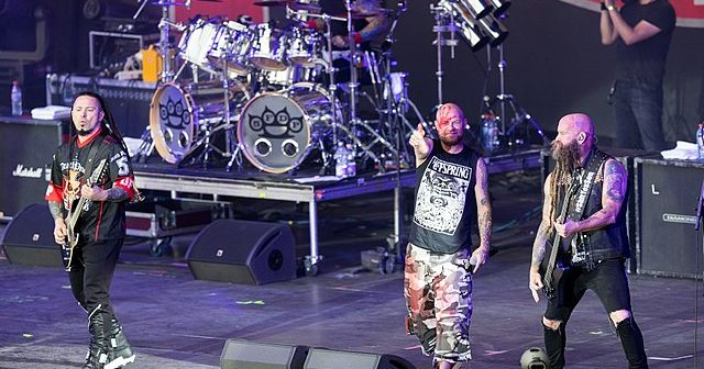 Five Finger Death Punch avec Megadeth et Bad Wolves en concert à Paris en janvier 2020 !
