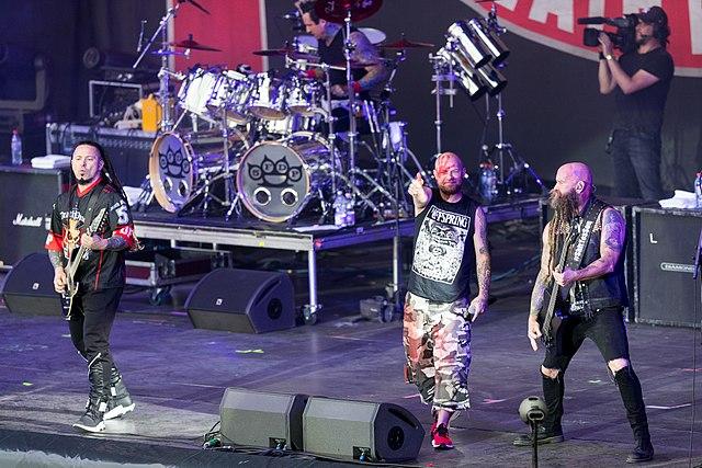 Five Finger Death Punch avec Megadeth et Bad Wolves en concert à Paris en janvier 2020 !