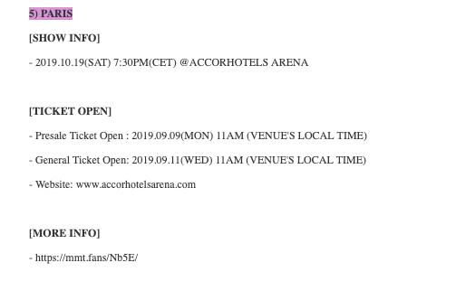 GOT7 en concert à Paris : la date de mise en vente dévoilée !