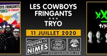 Les Cowboys Fringants et Tryo partageront une soirée au Festival de Nîmes 2020 ! 4