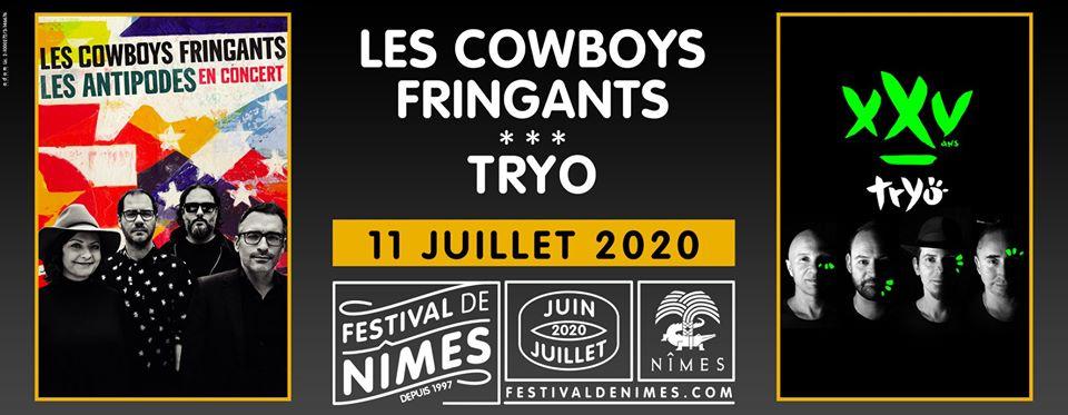 Les Cowboys Fringants et Tryo partageront une soirée au Festival de Nîmes 2020 ! 1