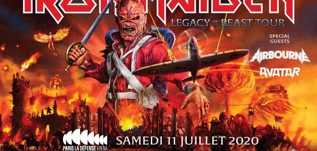 Iron Maiden en concert à la Paris Défense Arena en juillet 2020 : où et comment acheter ses billets ? 1