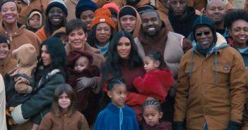 """Kanye West invite Kim Kardashian et ses enfants dans le clip de """"Closed On Sunday"""" 4"""