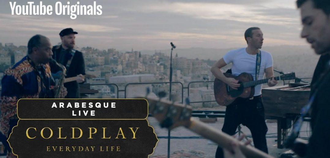 """Assistez au concert de Coldplay en Jordanie et vivez votre meilleure """"Everyday Life"""" 1"""