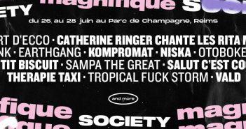 La Magnifique Society 2020 dévoile ses têtes d'affiche : 47ter, Thérapie TAXI, Catherine Ringer, Vald... 4