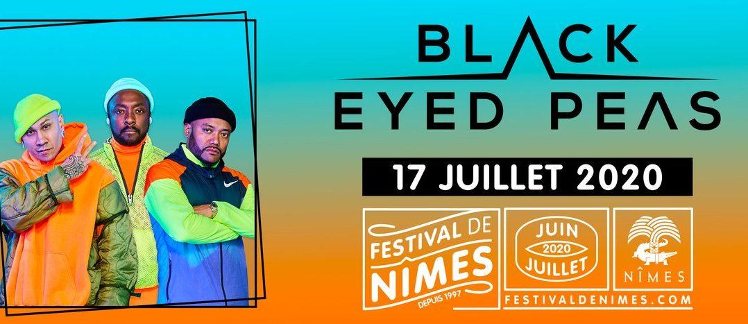 Boom BOOM POOOOOW, Black Eyed Peas vous attend au festival de Nîmes en juillet prochain ! 1