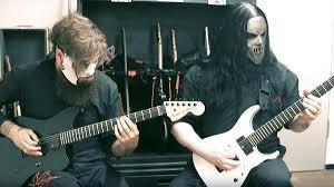 Jim Root et Mick Thomson de Slipknot élus meilleurs guitaristes métal de l'année 2