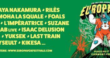 Le festival Europavox revient en 2020 avec 7 nouveaux noms : Rilès, Isaac Delusion, Yseult... 1