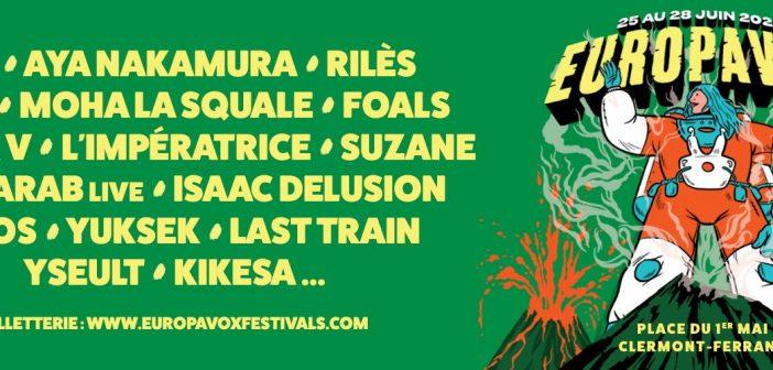 Le festival Europavox revient en 2020 avec 7 nouveaux noms : Rilès, Isaac Delusion, Yseult...
