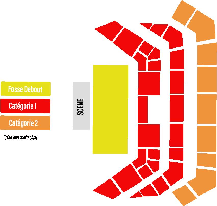 Alicia Keys en concert à Paris et Bordeaux en juillet 2020 : voici les plans de salle ! 2