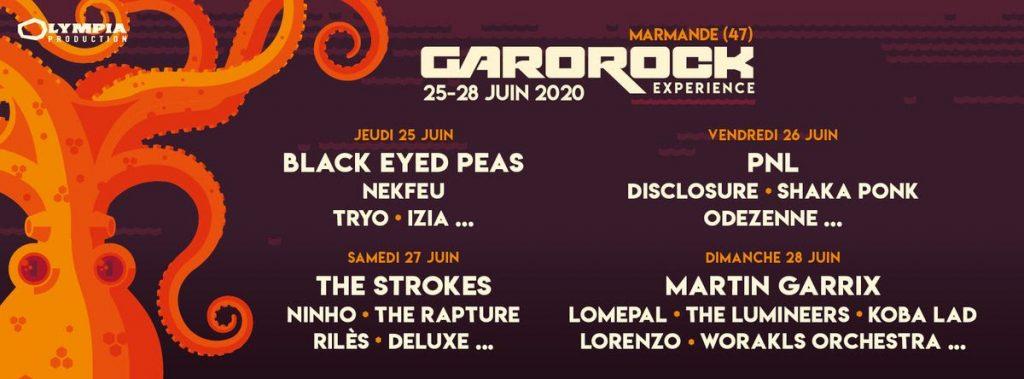 Garorock envoie du très lourd en 2020 avec son nouveau nom : The Strokes ! 2