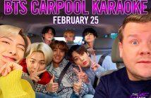 Avis à l'ARMY, BTS monte dans le Carpool Karaoke de James Corden ! 2