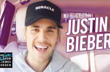 """Justin Bieber monte dans la voiture de Corden pour un super """"Carpool Karaoke"""" 2"""