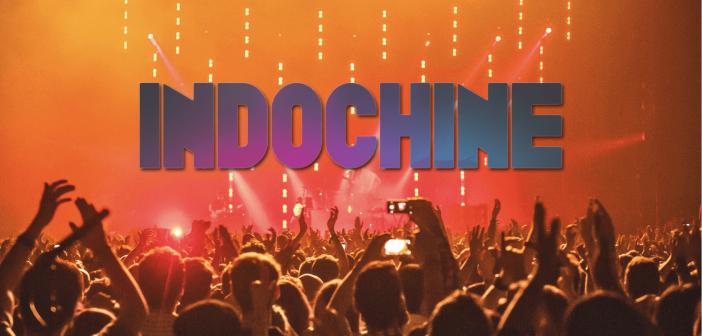 Indochine en concert au stade Pierre Mauroy de Lille en juillet 2021 avec sa tournée «Central Tour» pour #INDO40