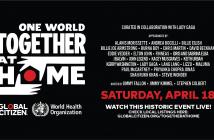 """""""One World : Together At Home"""", un concert mondial  en soutien aux soignants est organisé par Lady Gaga ! 3"""