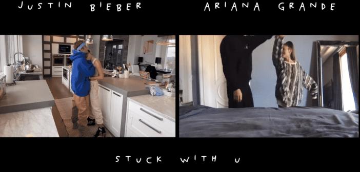 Ariana Grande et Justin Bieber dévoilent le clip confiné de «Stuck With U», leur chanson caritative !