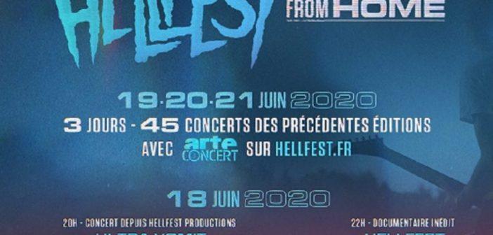 Le Hellfest 2020 annulé laisse sa place au Hellfest From Home pour fêter sa 15e édition !