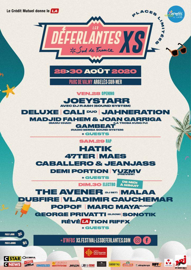 """Le festival Les Déferlantes réinvente son édition 2020 et vous attend du 28 au 30 août pour """"Les Déferlantes XS"""" ! 1"""