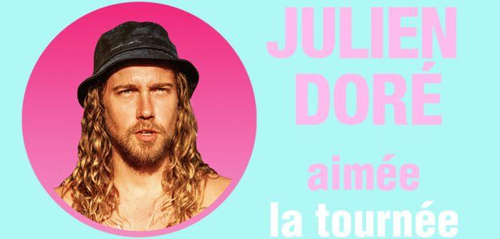 Julien Doré annonce une grande tournée dans les Zéniths de France en 2021/2022 et un concert à l'Accor Arena de Paris !