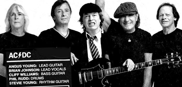 Brian Johnson, Angus Young, Cliff Williams… AC/DC confirme son line up avec une belle photo de groupe !