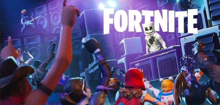 Travis Scott, Deadmau5, Steve Aoki, Diplo... Fortnite veut devenir votre prochaine salle de concert !