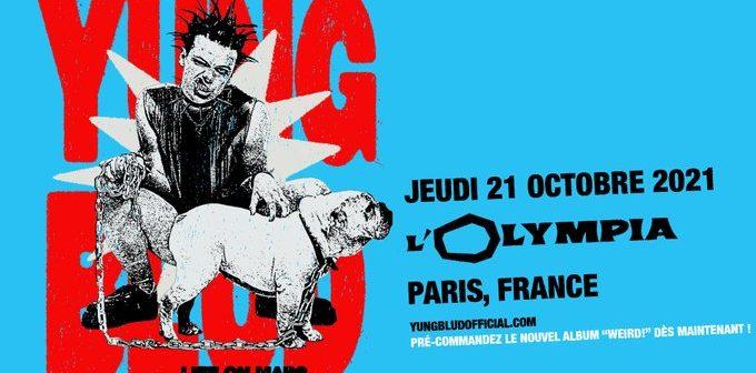 Yungblud à l'Olympia de Paris en octobre 2021, et promis, ça sera un concert super «weird!»