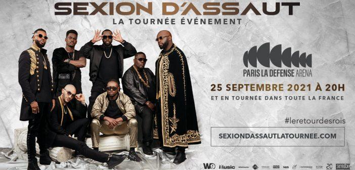 Sexion d'Assaut vous attend pour #LeRetourDesRois avec un concert à la Paris Défense Arena en septembre 2021 et en tournée dans toute la France !