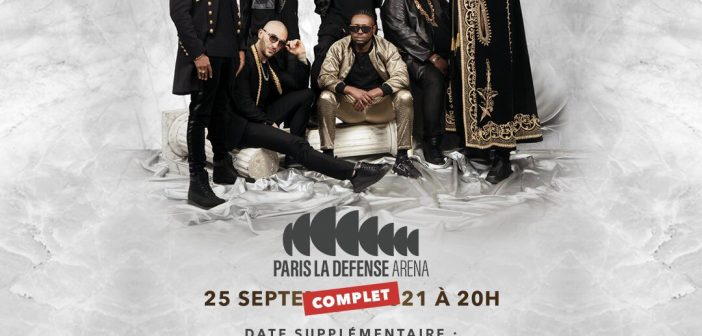 Sexion d'Assaut rajoute un 2e concert à la Paris Défense Arena en 2021 et où et comment avoir son billet pour la tournée événement ?