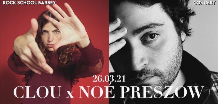 Clou et Noé Preszow partent en tournée commune d'un bout à l'autre de la France entre mars et mai 2021 !