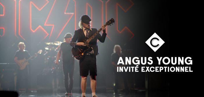 AC/DC : Angus Young sera, ce soir, l'invité exceptionnel de C à vous sur France 5 !