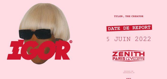 Nouveau report pour Tyler The Creator : le concert aura lieu au Zénith de Paris en juin 2022 !