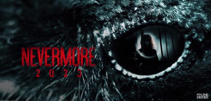 Mylène Farmer continue de nous rendre fous avec un nouveau teaser mystérieux, «Nevermore 2023» !