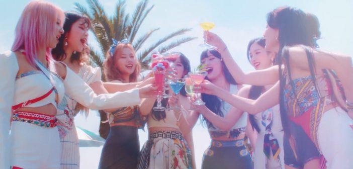 TWICE dévoile le clip du single «Alcohol-Free» avant la sortie de l'album «Taste Of Love»