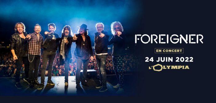 Surprise, Foreigner annonce un concert à l'Olympia de Paris en juin 2022 !