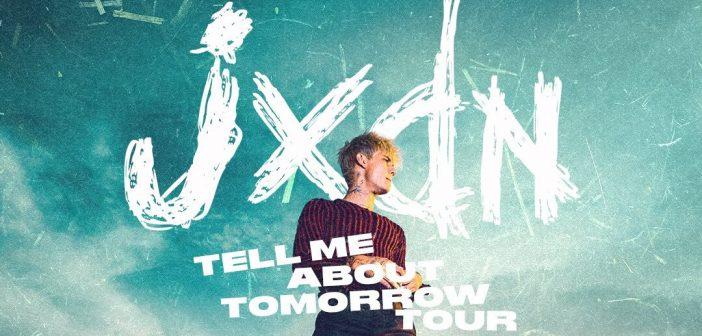 jxdn viendra présenter son premier album «Tell Me About Tomorrow» en concert au Bataclan, à Paris, en février 2022 !