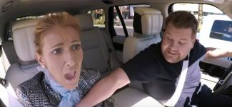 Céline Dion met le feu dans le Carpool Karaoke de James Corden !