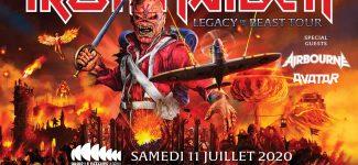 Iron Maiden en concert à la Paris Défense Arena en juillet 2020 : où et comment acheter ses billets ?