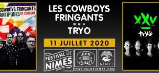 Les Cowboys Fringants et Tryo partageront une soirée au Festival de Nîmes 2020 !
