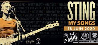 """Sting et son """"My Song Tour"""" vous offrent une soirée au Festival de Nîmes 2020 !"""